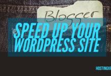 Speed Up Your WordPress Site
