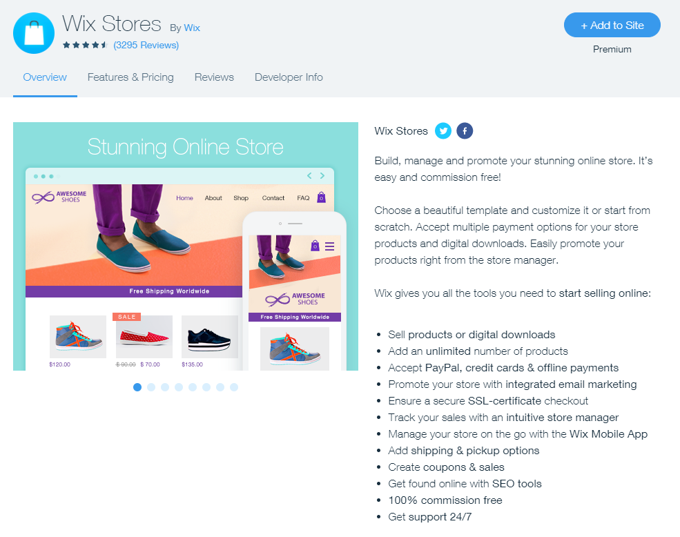 wix top features