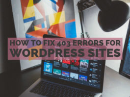 How To Fix 403 Errors for WordPress Sites