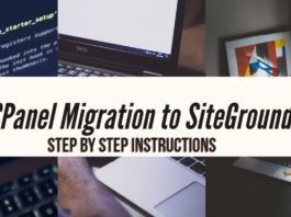 CPanel Migration to SiteGround