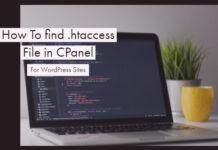 Find .htaccess File