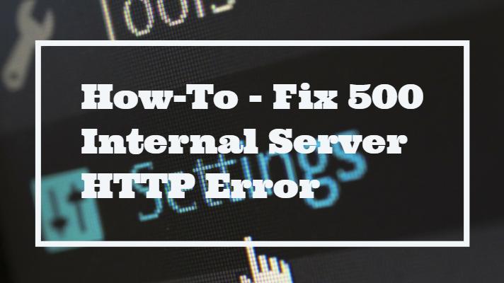 how to fix server error 500 wordpress