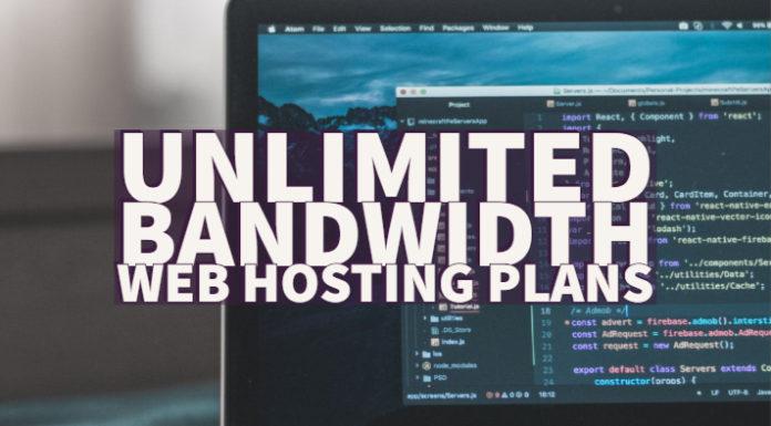 Unlimited Bandwidth Web Hosting Plans