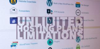 Unlimited Hosting Plans Limitations